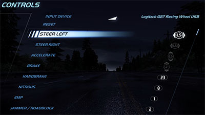 NFS: Hot Pursuit Controls