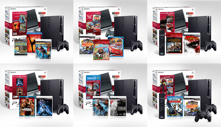 PS3 2010 Holiday Bundles