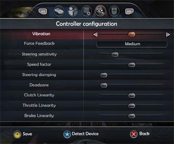 tdu2 controller configuration