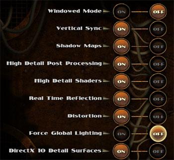 Bioshock 2 options