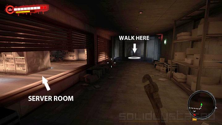 Dead Island Server Room