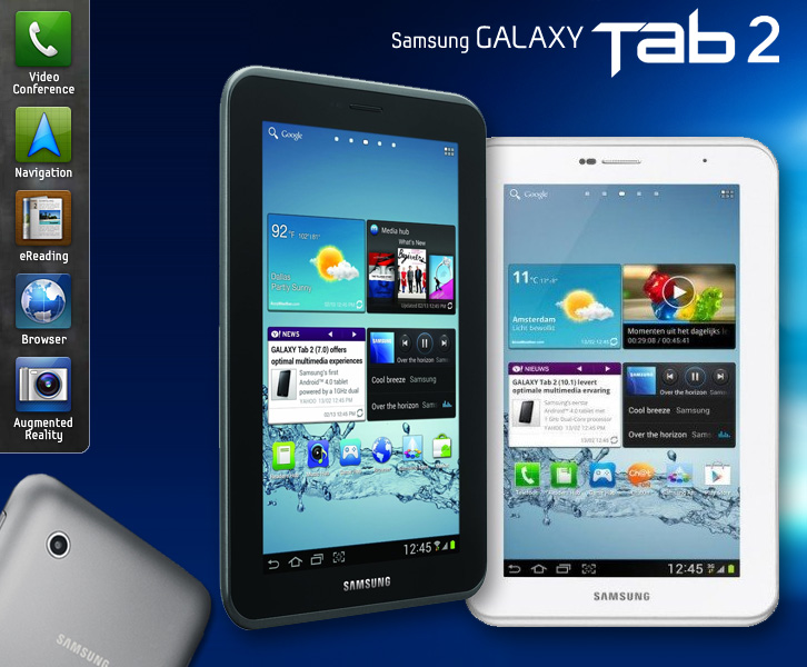 Galaxy Tab 2 Christmas 2012
